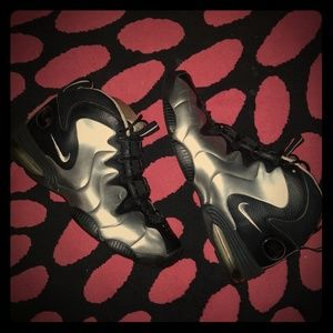 Other - Air Penny 3 silver and black